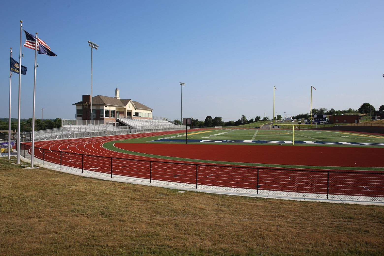 Football, Soccer, and Lacrosse Fields